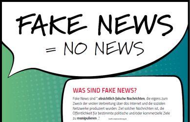 "Poster ""Fake News"""